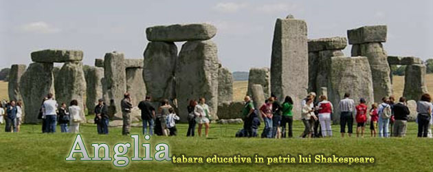 Anglia - tabara educativa in patria lui Shakespeare