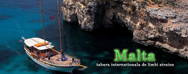 Malta - tabara internationala limbi straine