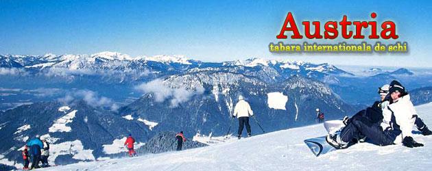 Austria - tabara internationala de schi